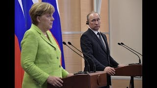 Angela Merkel and Vladimir Putin talk about Jehovah's Witnesses in Russia