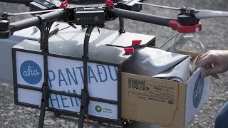 Meals on rotors: Icelandic company expands drone delivery service