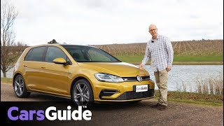Volkswagen Golf 7.5 2017 review: first Australian drive video