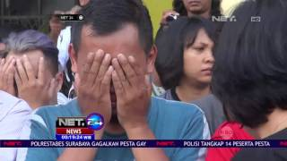 8 Orang Ditangkap Karena Pesta Gay di Surabaya NET24