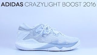 adidas CrazyLight Boost 2016 'All-White' - Detailed Review