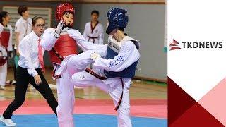 [5.18대회]여자중등부 핀급 결승 홍지민(권선중)vs진서연(광남중)