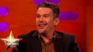 Robin Williams Is The Reason Ethan Hawke Made It As An Actor | The Graham Norton Show