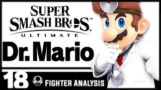 Dr. Mario is No Longer a Clone? | Smash Ultimate Fighter Analysis
