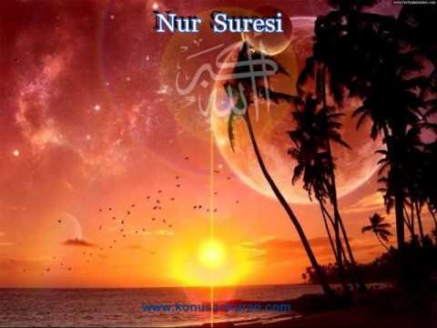 Nur Suresi - Konuşan Kuran-ı Kerim 024 (Arapça - Türkçe)