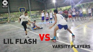 Lil Flash vs Varsity Players