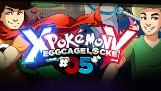 Pokémon XY Egglocke Cagelocke w/ MunchingOrange and aDrive - EP05 -