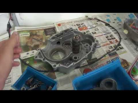 Motor Titan 125 99 montagem passo a passo Cássio mecânico