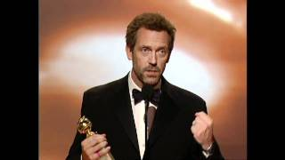 Hugh Laurie Wins Best Actor TV Series Drama - Golden Globes 2007