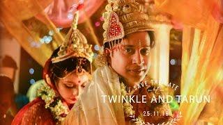 BEST CINEMATIC WEDDING TRAILER (BENGALI, MARWARI) // TWINKLE & TARUN |  | FULL | HD | 2017 #CHOBI