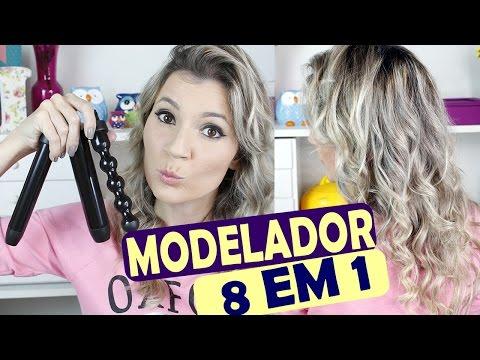 MODELADOR 8 EM 1 - Sapphire 8 in 1 Curler  irresistibleme