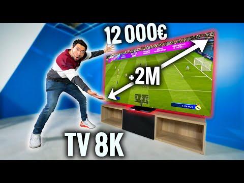 J ai reçu une TV 8K Géante à 12 000€ plus de 2 mètres
