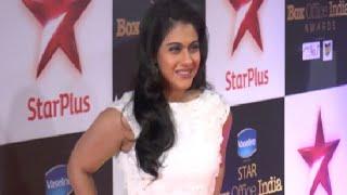 Kajol at the red carpet of Star Box Office India Awards 2014.