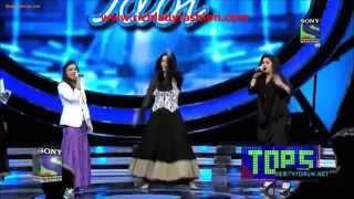 Indian Idol Season 6 Salman Khan & Katrina Kaif Dance Together - Ek tha tiger Promotion