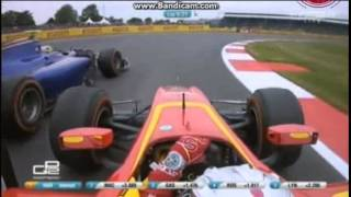 Full Highlight Rio Haryanto saat Juara GP2 Series Sprint Race Silverstone 2015