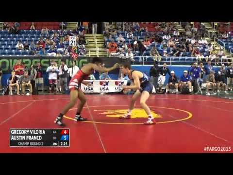 113 Champ. Round 2 - Austin Franco (Michigan) vs. Gregory Viloria (California)