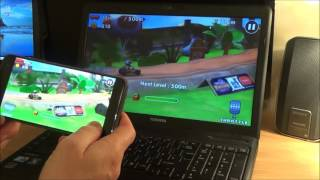 How To CAST Android Mobile Phone Screen to PC Laptop