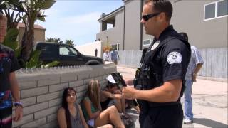 Hermosa Beach Police Teens and the 4th of July Public Safety Video