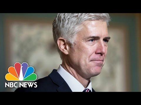 Neil Gorsuch Hearing GOP Praises His Conservatism Democrats Critique Past Rulings NBC News