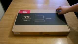 Packard Bell EasyNote TE Unboxing