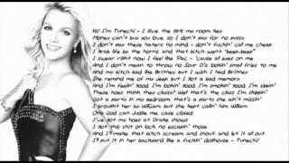 Britney Spears, Will.i.am ft Lil Wayne - Scream and Shout Remix (Lyrics)