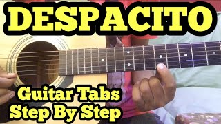 Despacito Guitar Tabs/Lead Lesson in Hindi   Luis Fonsi   Daddy Yankee   Justin Bieber