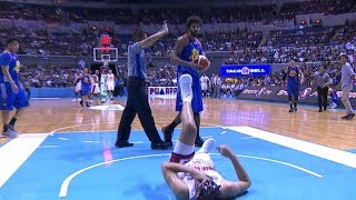 Rice is thrown out of the game | PBA Governor's Cup 2017