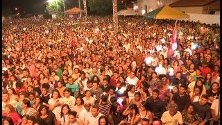 Multidão lota o encerramento do 'Festival Internacional Boas Novas' em Caxias