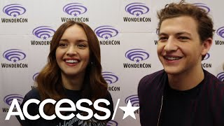 'Ready Player One's' Olivia Cooke & Tye Sheridan On Seeing Their Movie Avatars For The First Time