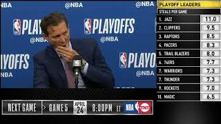 Quin Snyder postgame reaction | Jazz vs Rockets Game 4 | 2019 NBA Playoffs