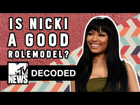 Xxx Mp4 Is Nicki Minaj A Good Role Model Decoded MTV News 3gp Sex