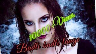 Badli badli laage hariyanvi song dance video