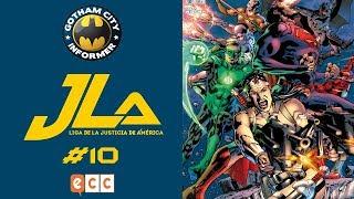 JLA: LIGA DE LA JUSTICIA DE AMÉRICA #10 | Gotham City Informer | Todo Batman en Español