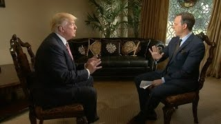 Donald Trump doubles down on Clinton and judge (Full CNN Interview)