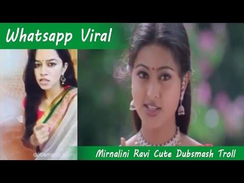 Mirnalini Ravi AKA Miru's Cute Dubsmash Troll Version! Must Watch! | Whatsapp viral - 3