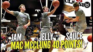 Mac McClung 40 POINT JAM, JELLY & SAUCE!!! Ref ALMOST Ruins Windmill Dunk!! Arby