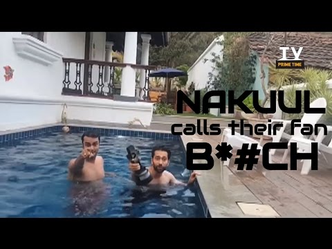 OMG! Nakuul Mehta's NEVER SEEN BEFORE AVATAR! CAUGHT NAKED & ABUSING in SWIMMING POOL| TV Prime Time