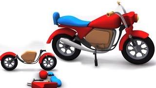 Toy Box Unboxing - Bike | Kartun untuk kanak-kanak | Penyusunan | pendidikan Video