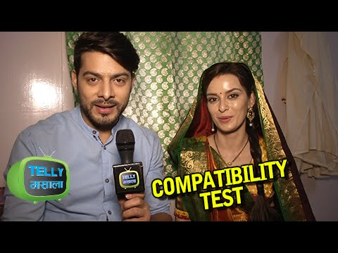Compatibility Test Of Karam And Ekta   Mere Angne Mein   Exclusive Interview