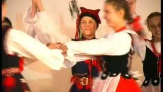 Krakowiak - polski taniec ludowy - folklore polish dance