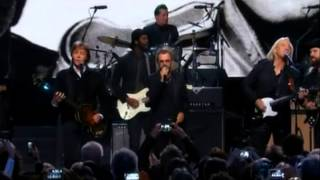 Ringo Starr, Paul McCartney & Friends [ 2015 Rock & Roll Hall of Fame ]