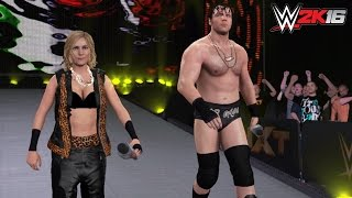 WWE 2K16 PC Mods: Renee Young as a playable Superstar! Renee & Ambrose: The Realest Guys in the Room