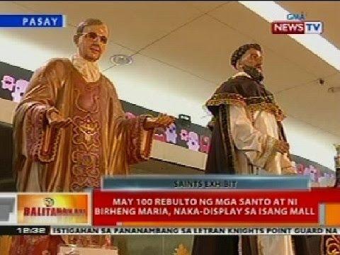 Xxx Mp4 BT May 100 Rebulto Ng Mga Santo At Ni Birheng Maria Naka Display Sa Isang Mall Sa Pasay 3gp Sex