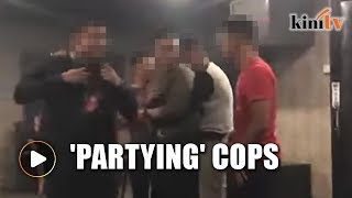 Bukit Aman probes alleged video of Muar cops partying with gambling den boss