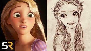 10 Secret Disney Origins That They Kept From Us