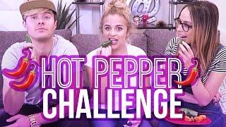 HOT PEPPER CHALLENGE w/ Bart Baker & Shira Lazar | Baby Ariel