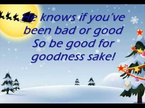 Michael Bublé - Santa Claus is coming to town  -LYRICS