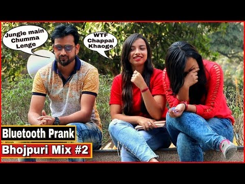 Bluetooth Prank Proposing Cute Girl s 5 Bhojpuri Mix 2 Pranks In India By TCI
