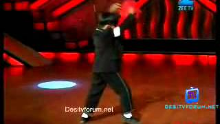 Dance India Dance Jit Das performed MJ on