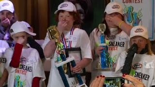 12-year-old boy wins stinky shoe contest